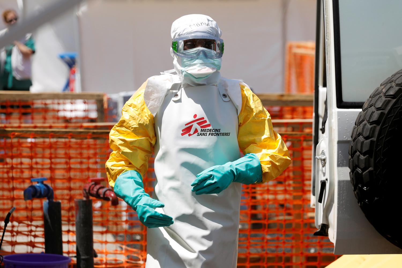 MSF sur le front d'Ebola en RDC, en 2019, Reuters