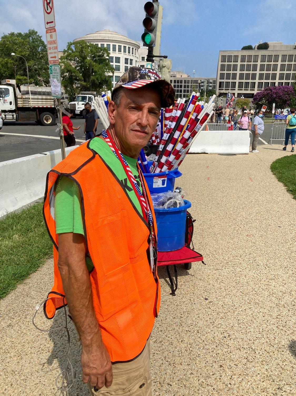 Gregory, verkoper uit New Jersey, rr