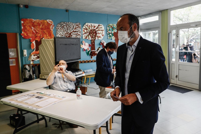 Edouard Philippe réélu maire du Havre, Belga Images