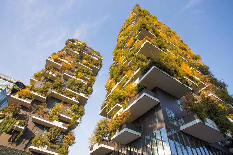 Les fameuses forêts verticales de l'Italien Stefano Boeri, à Milan, Getty Images