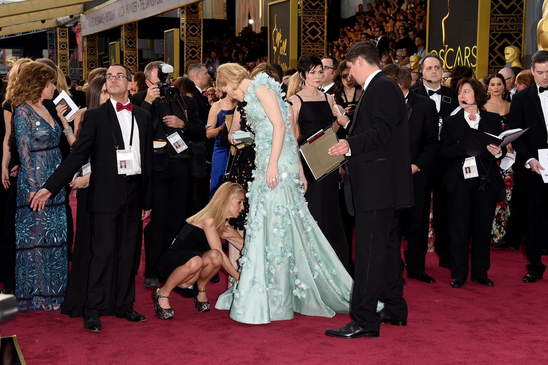 Cate Blanchet sur le tapis rouge des Oscars, Getty Images