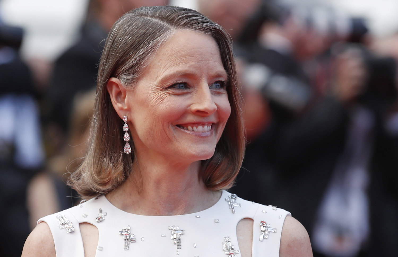 Jodie Foster, début juillet 2021 à Cannes, Reuters