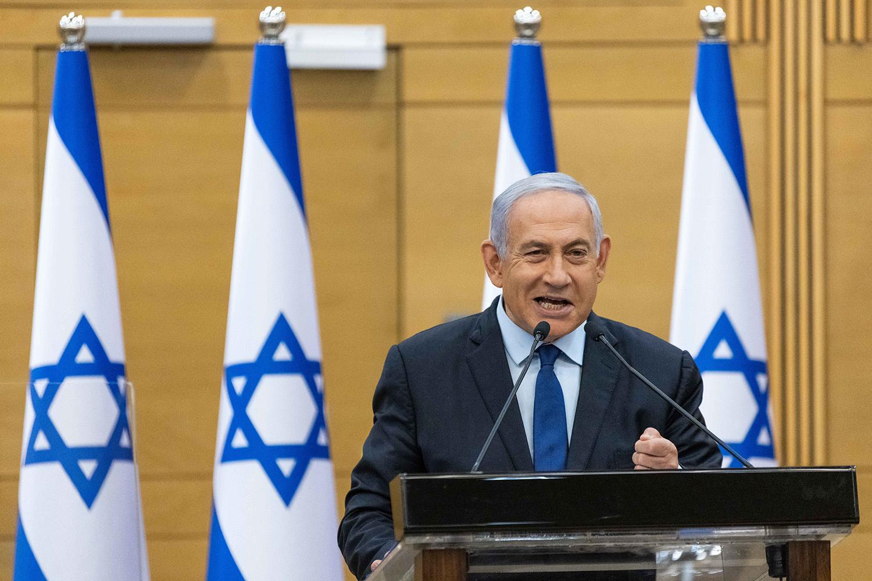 Benjamin Netanyahu, YONATAN SINDEL / AFP