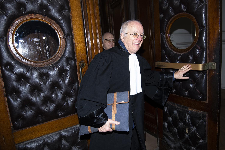 L'avocat d'Albert II, Me Alain Berenboom., BELGA PHOTO LAURIE DIEFFEMBACQ