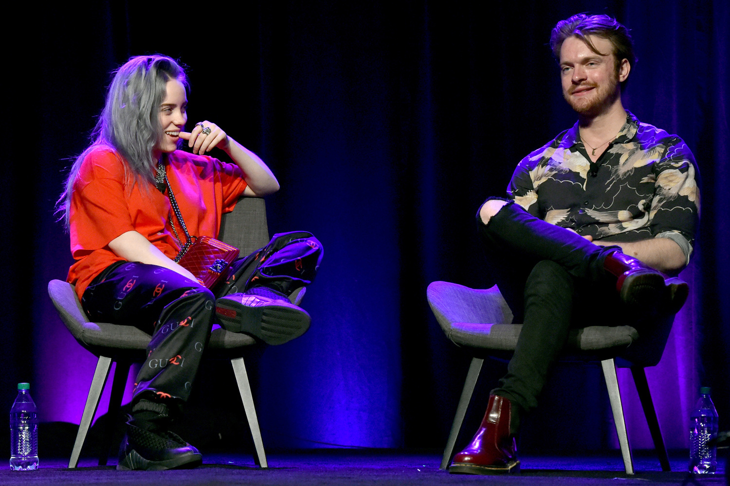 Billie Eilish et son frère Finneas O'Connell, Getty Images