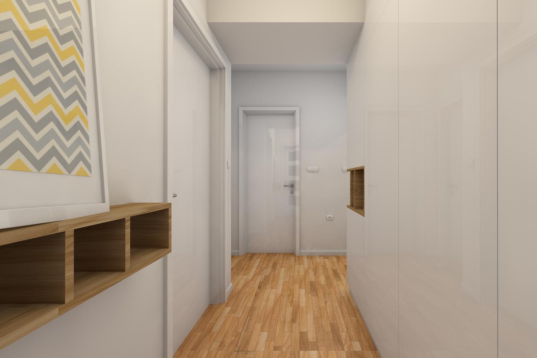 Un couloir, votre nouveau bureau?, Getty Images