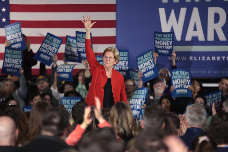 Elizabeth Warren, Getty Images