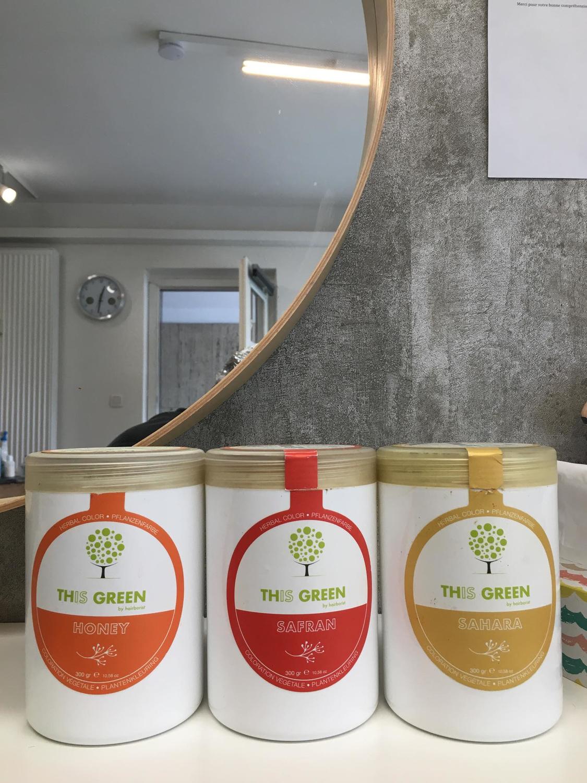 Les poudres 'honey', 'safran', 'sahara' ont les pigments les plus forts, Julie Nicosia