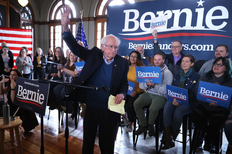 Bernie Sanders, Getty Images