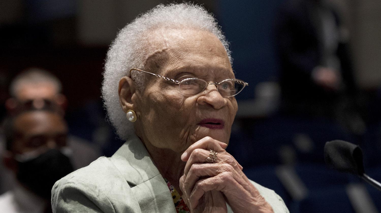 Viola Fletcher, 107 ans, rescapée du massacre de Tulsa en 1921, Belga Images