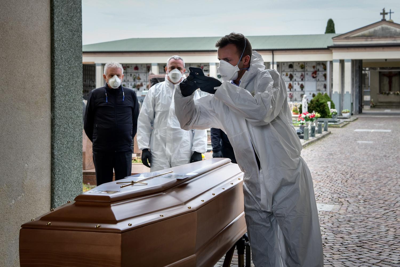 Cimetière de Grassobbio, AFP