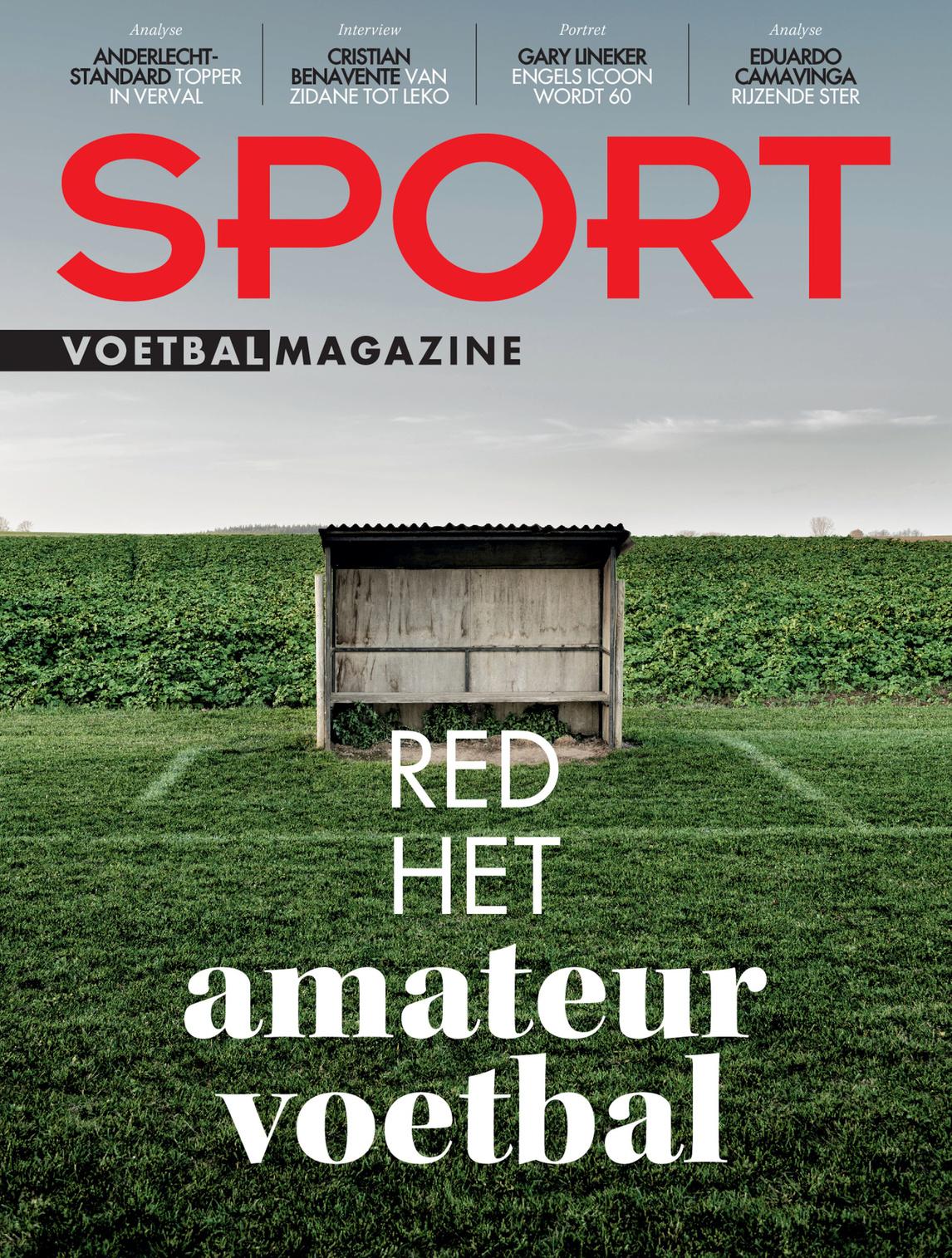 Deze week in Sport/Voetbalmagazine: het dossier-amateurvoetbal., Sport/Voetbalmagazine