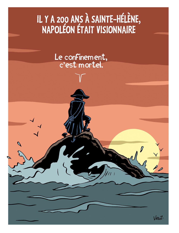 Il y a 200 ans mourait Napoléon., Vadot