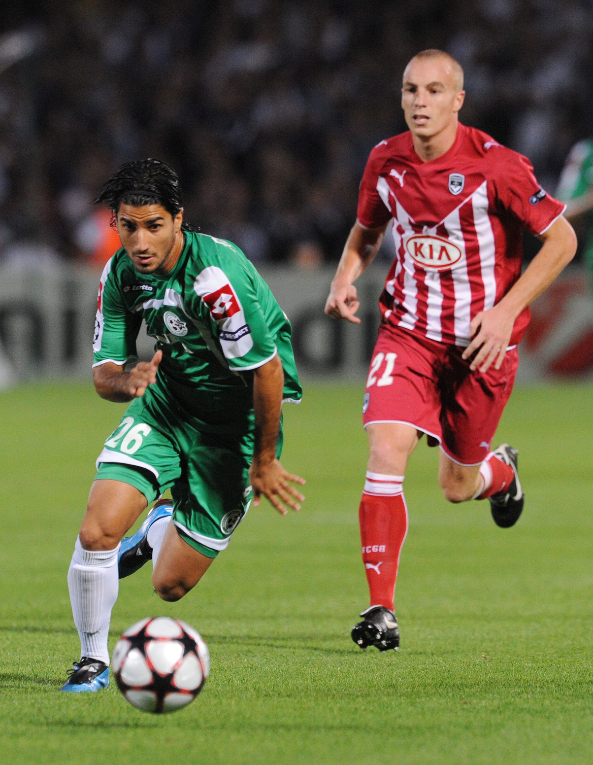 Refaelov bij Maccabi Haifa, Belga Image