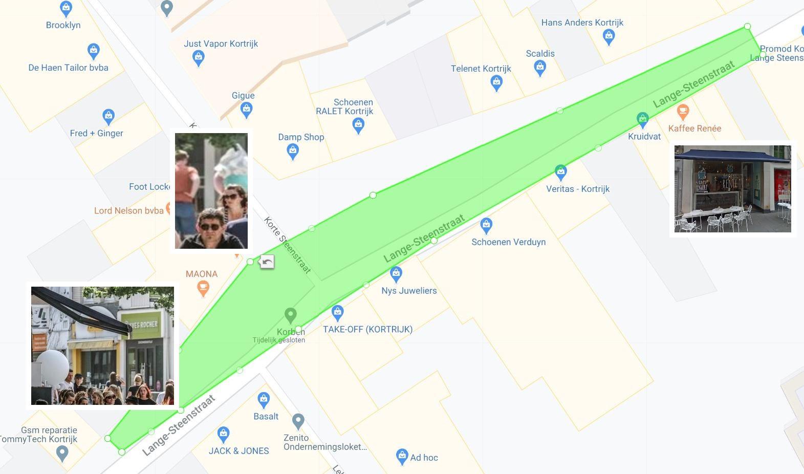Mapchecking.com/Henk Deleu/Google Streetview