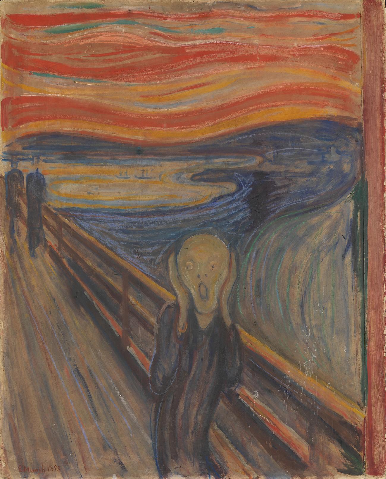 Le Cri d'Edvard Munch exposé au Musée national de Norvège, Boerre Hoestland / The NATIONAL MUSEUM OF NORWAY / AFP