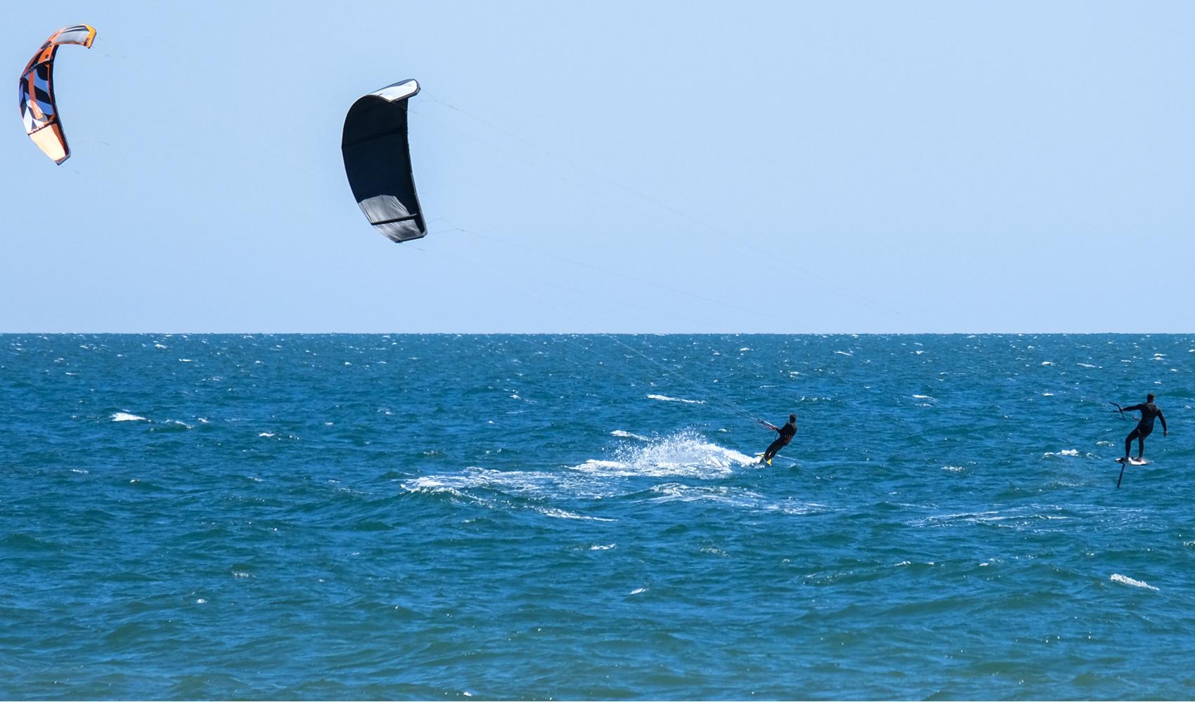 Kitesurf en Italie, AFP