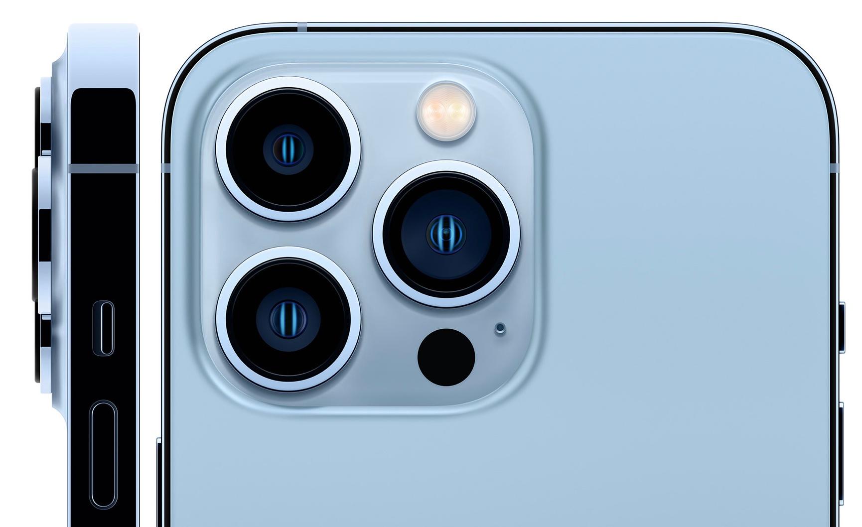 De optiek van de iPhone 13 Pro., Apple