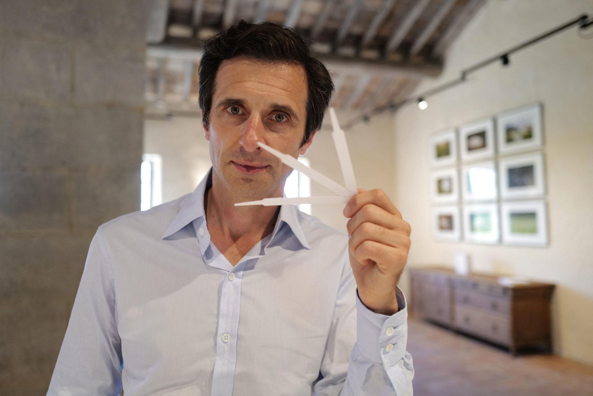 Olivier Polge, nez de Chanel, AFP