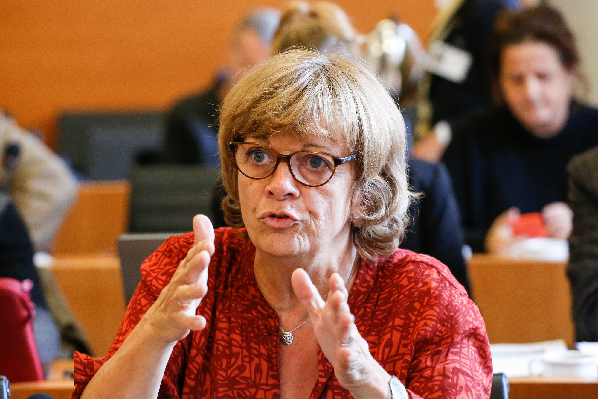 Isabelle Durant, BELGA IMAGE