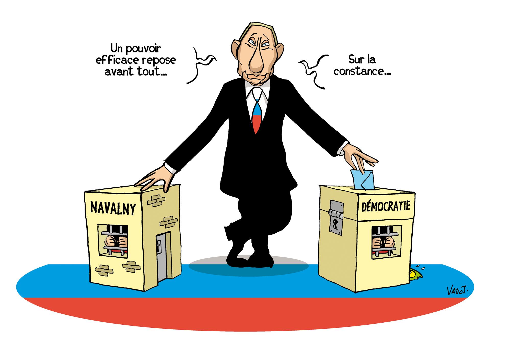 Le parti de Poutine remporte les élections législatives, en ayant muselé toute opposition., Vadot