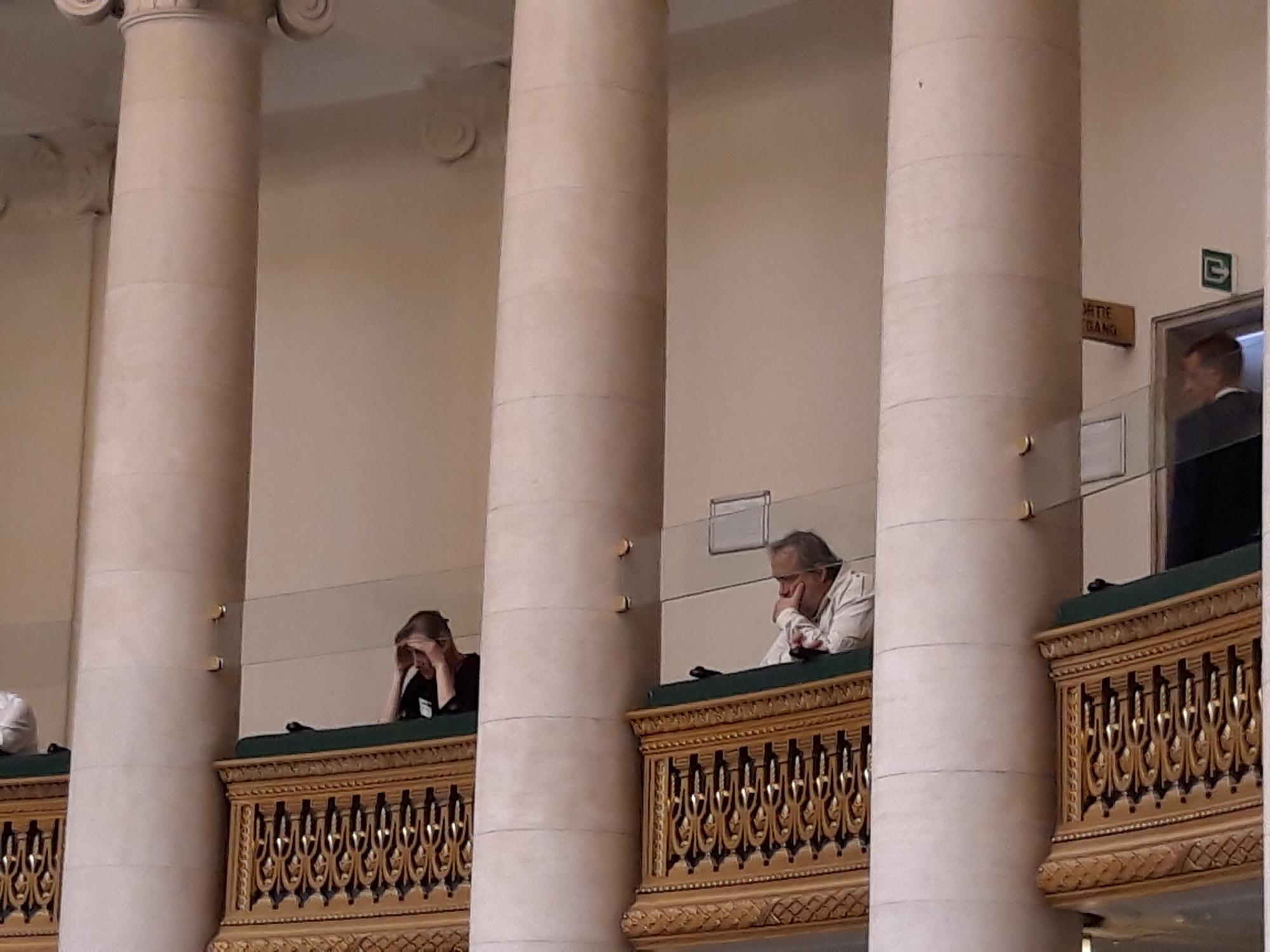 Jaco Van Dormael, dans la tribune à la Chambre, BELGA IMAGE
