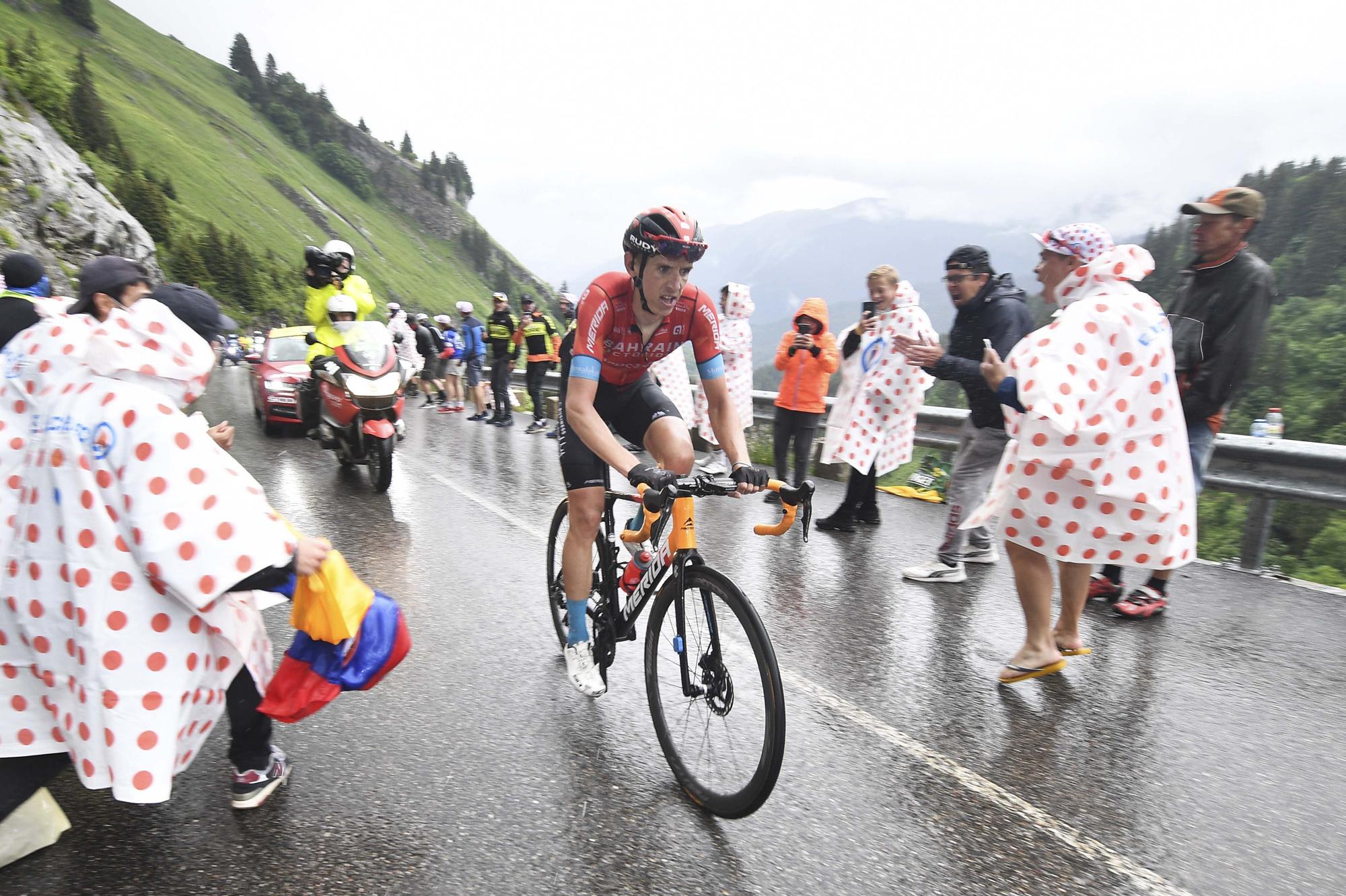 Dylan Teuns wint eerste Alpenrit in de Tour, Belga Image