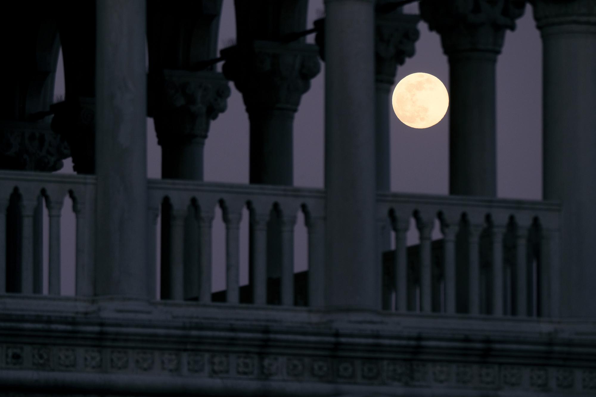 Super Lune rose 2020., Reuters