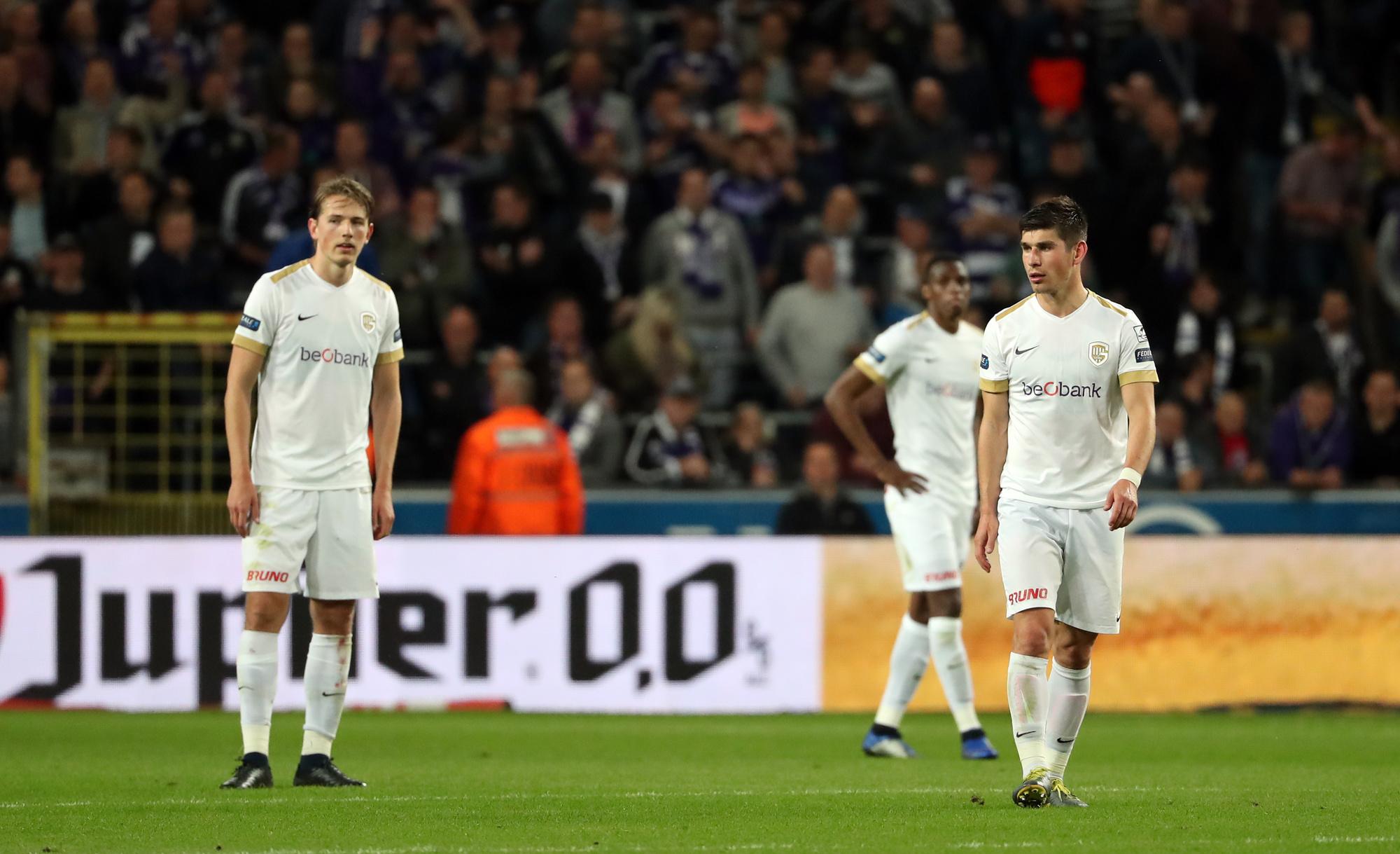 Genk, ici avec Sander Berge (maintenant Sheffield United) et Ruslan Malinovsky (maintenant Atalanta) est l'un des meilleurs fournisseurs du Big 5.