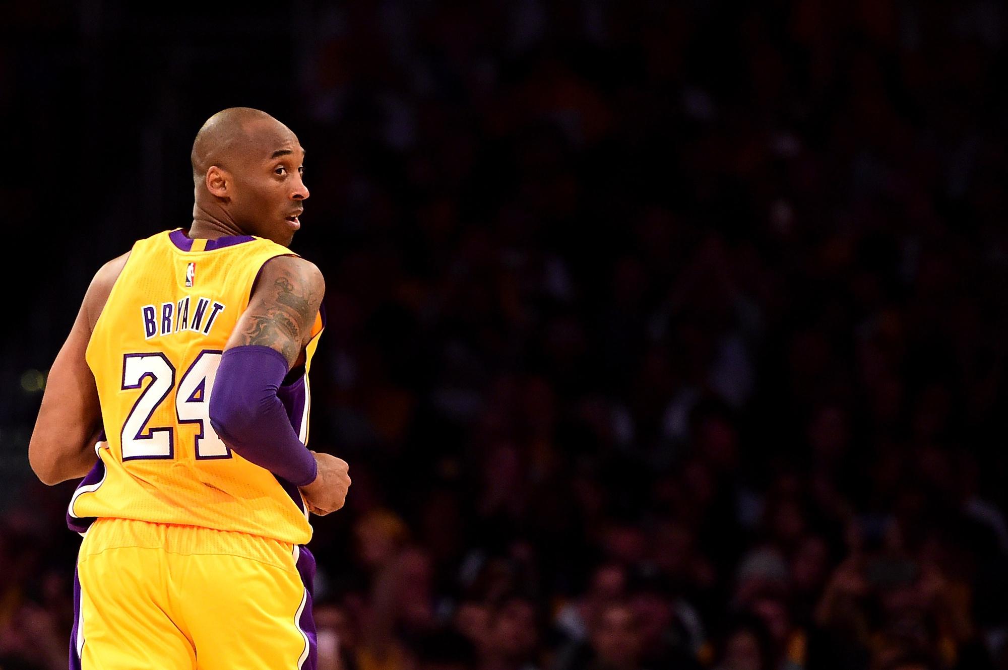 Kobe Bryant, en 2016., getty