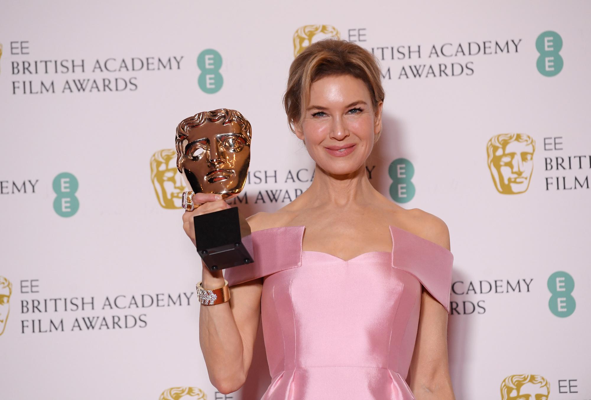 L'Américaine Renée Zellweger a remporté le Bafta de la meilleure actrice pour son interprétation de la légendaire comédienne Judy Garland., reuters