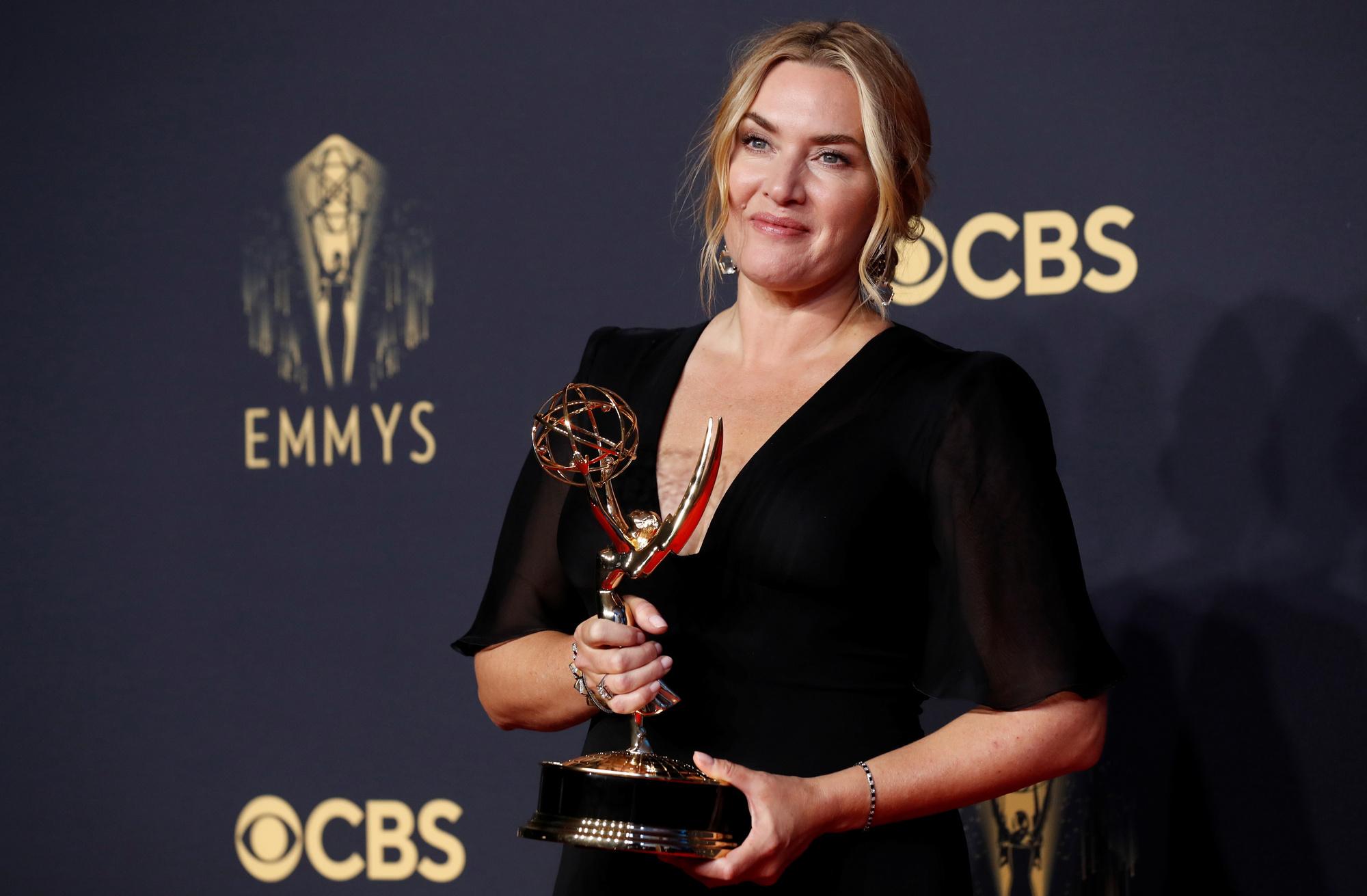 Kate Winslet, Emmy de la meilleure actrice dans une mini-série, REUTERS