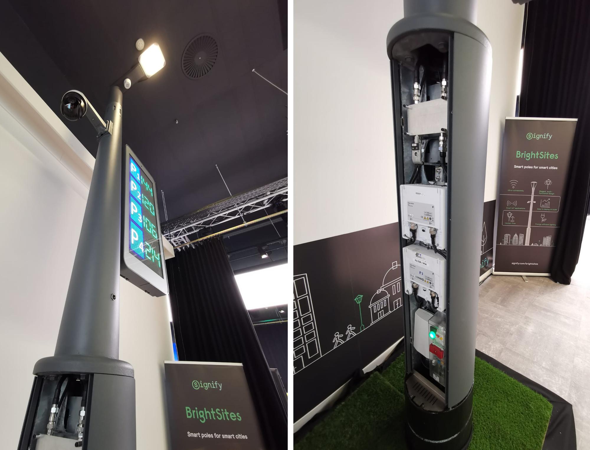 Un réverbère intelligent de Signify installé sur le High Tech Campus d'Eindhoven., MvdV