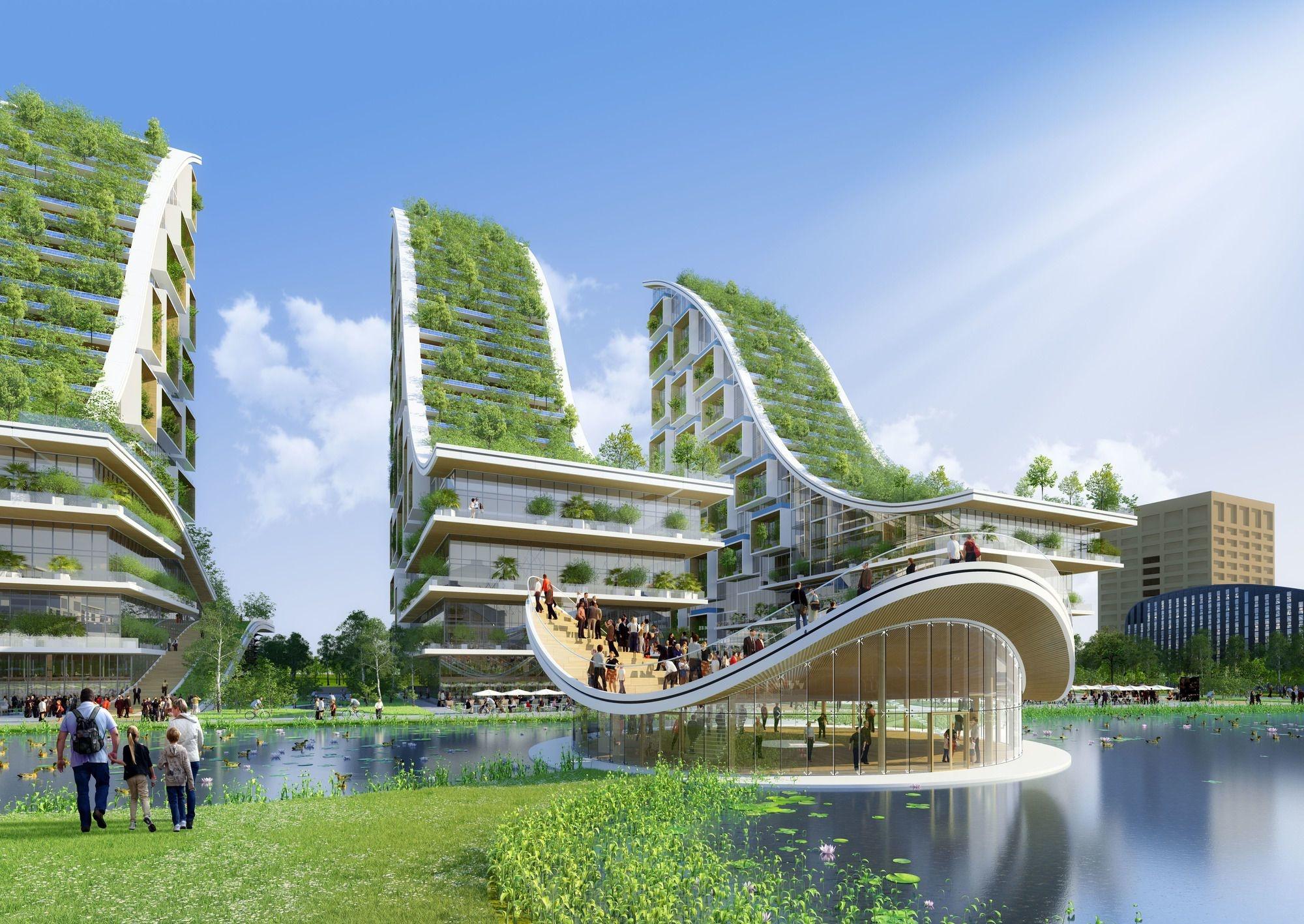 L'utopie futuriste de Vincent Callebaut pour Tour & Taxis, Vincent Callebaut