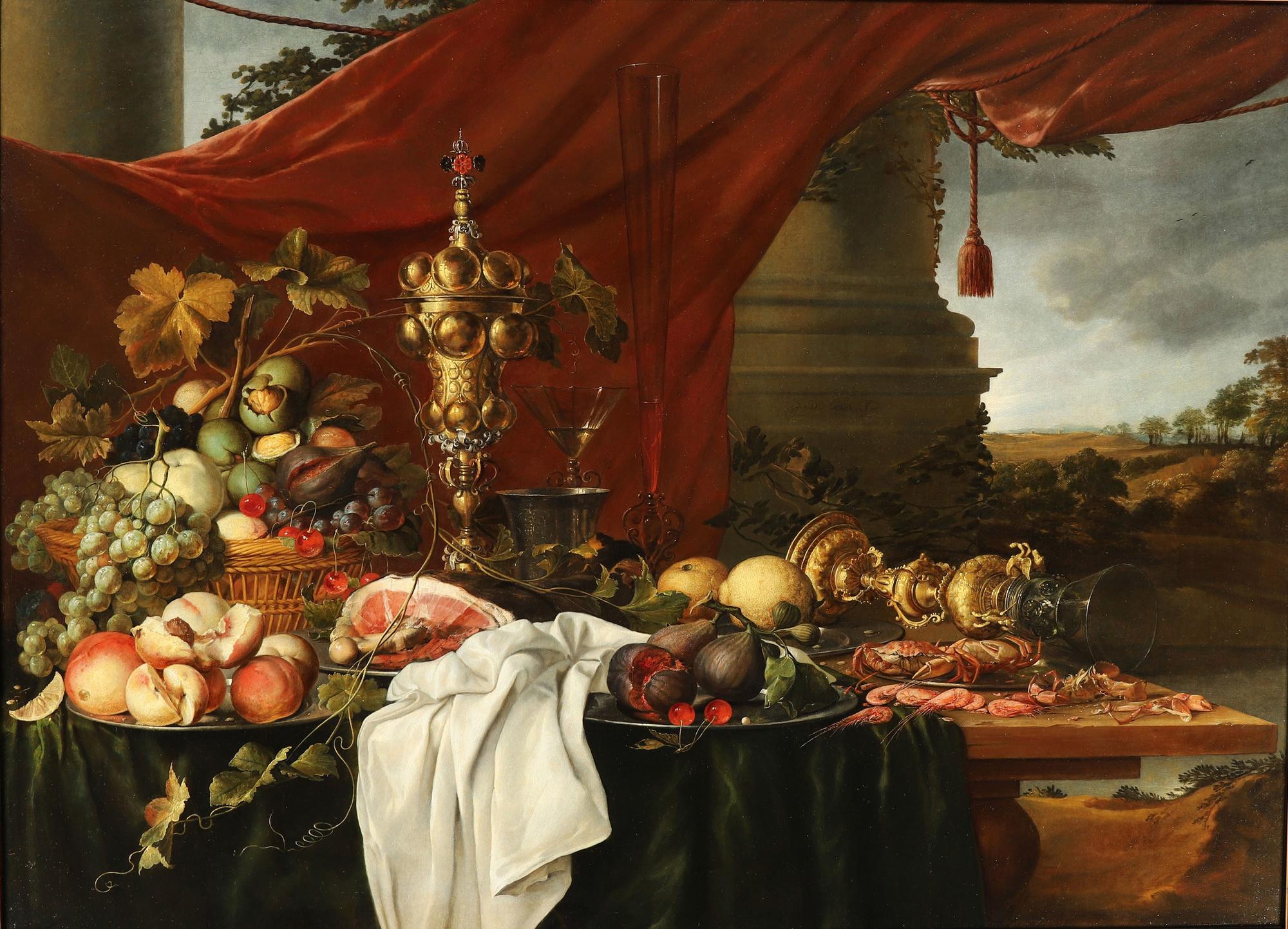 Jan Davidsz. de Heem (Utrecht 1606-1684 Antwerp), Brafa art Fair - DOUWES FINE ART BV