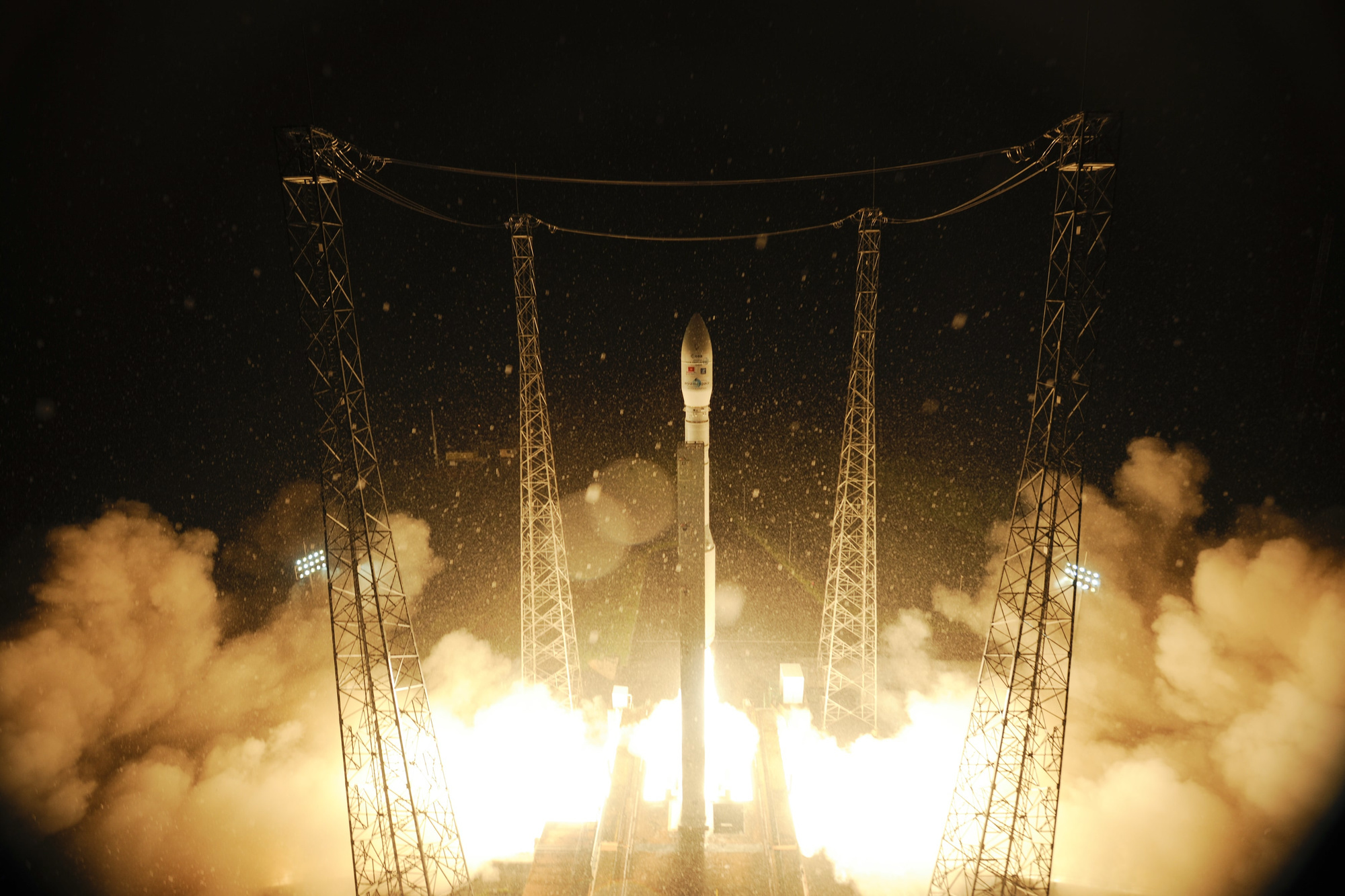 De lancering van de PROBA-V in 2013., ESA-S.Corvaja