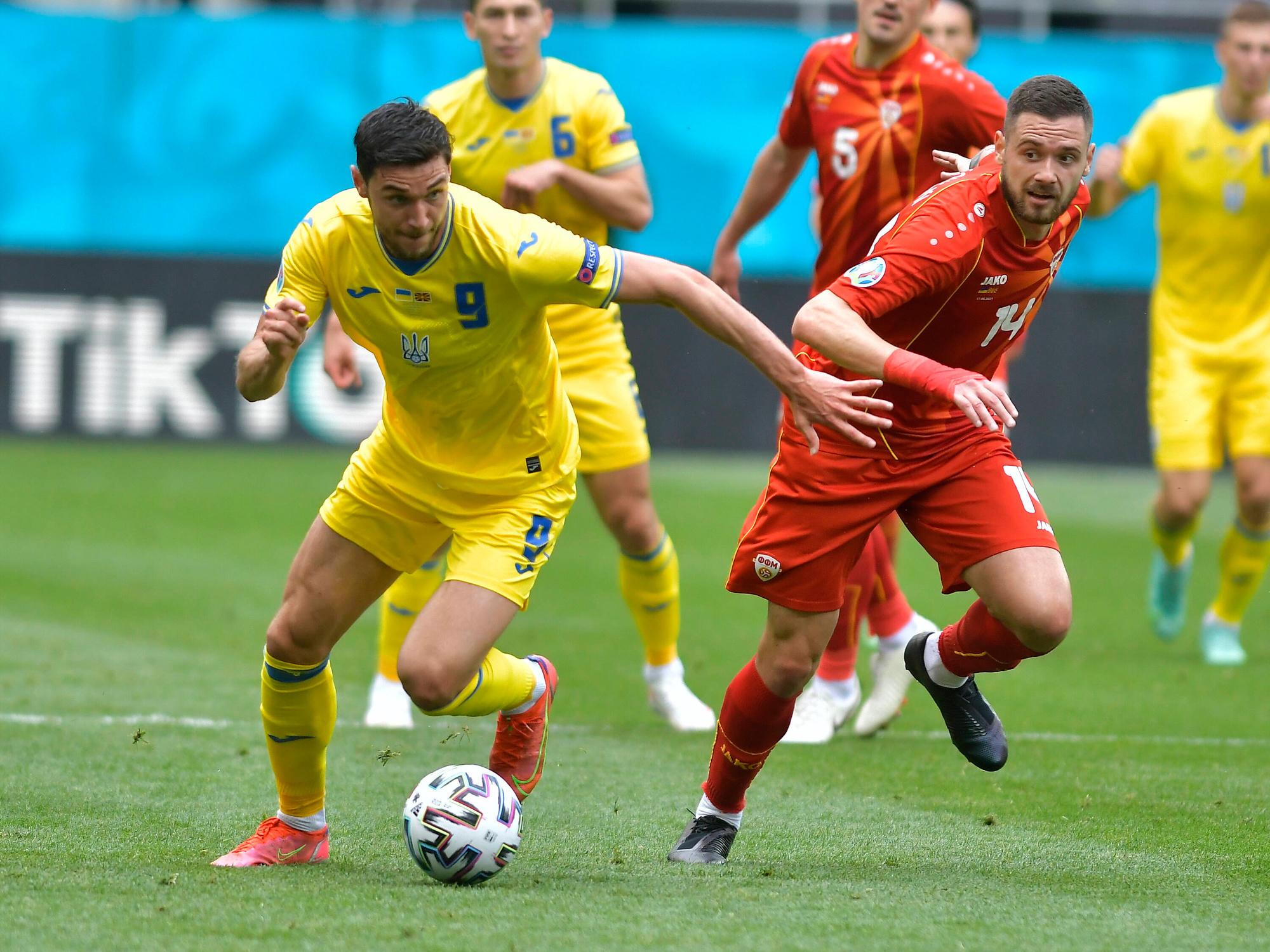Roman Yaremchuk régale dans cet EURO., IMAGO