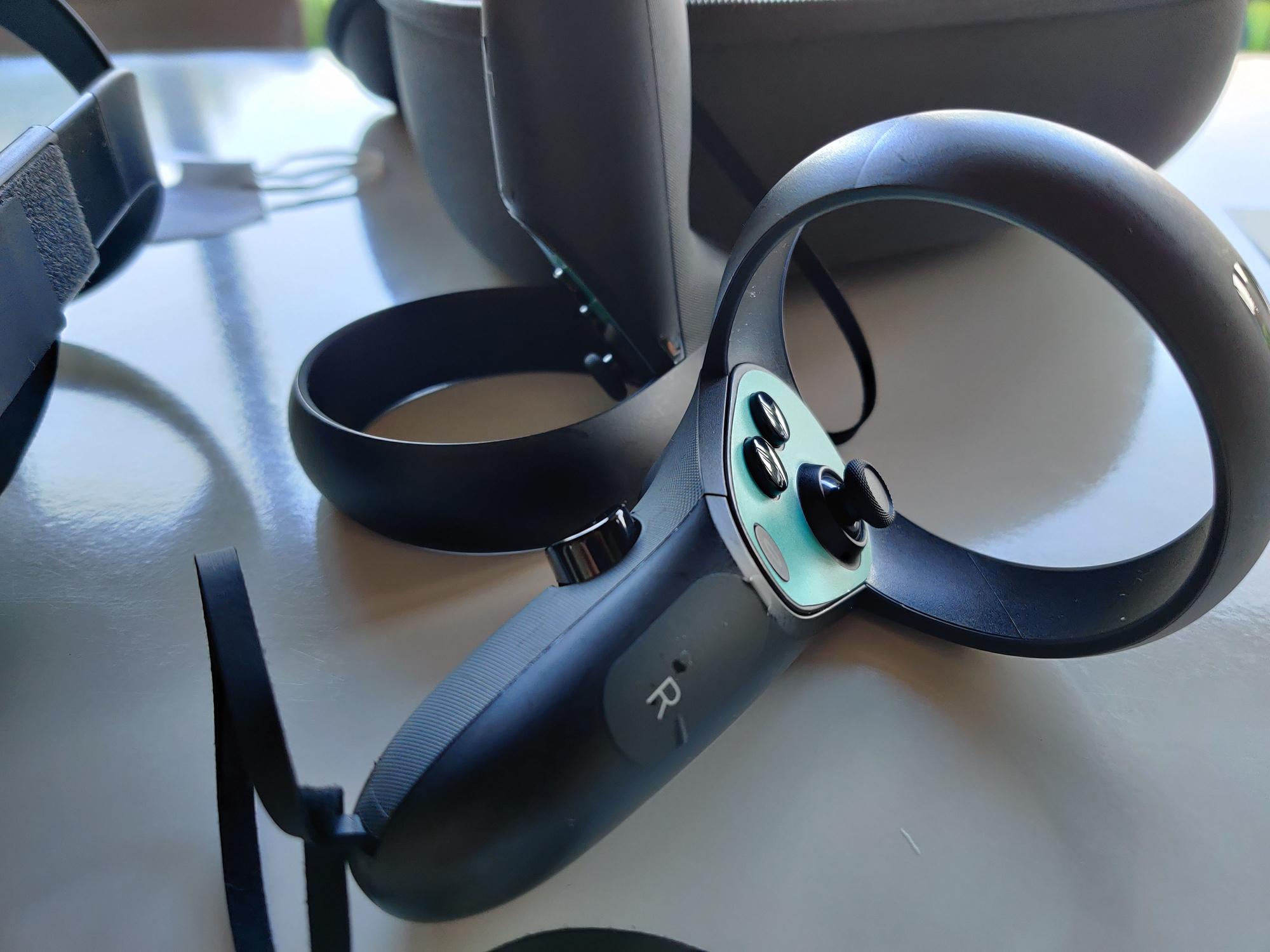 De controllers van de Oculus Quest., PVL