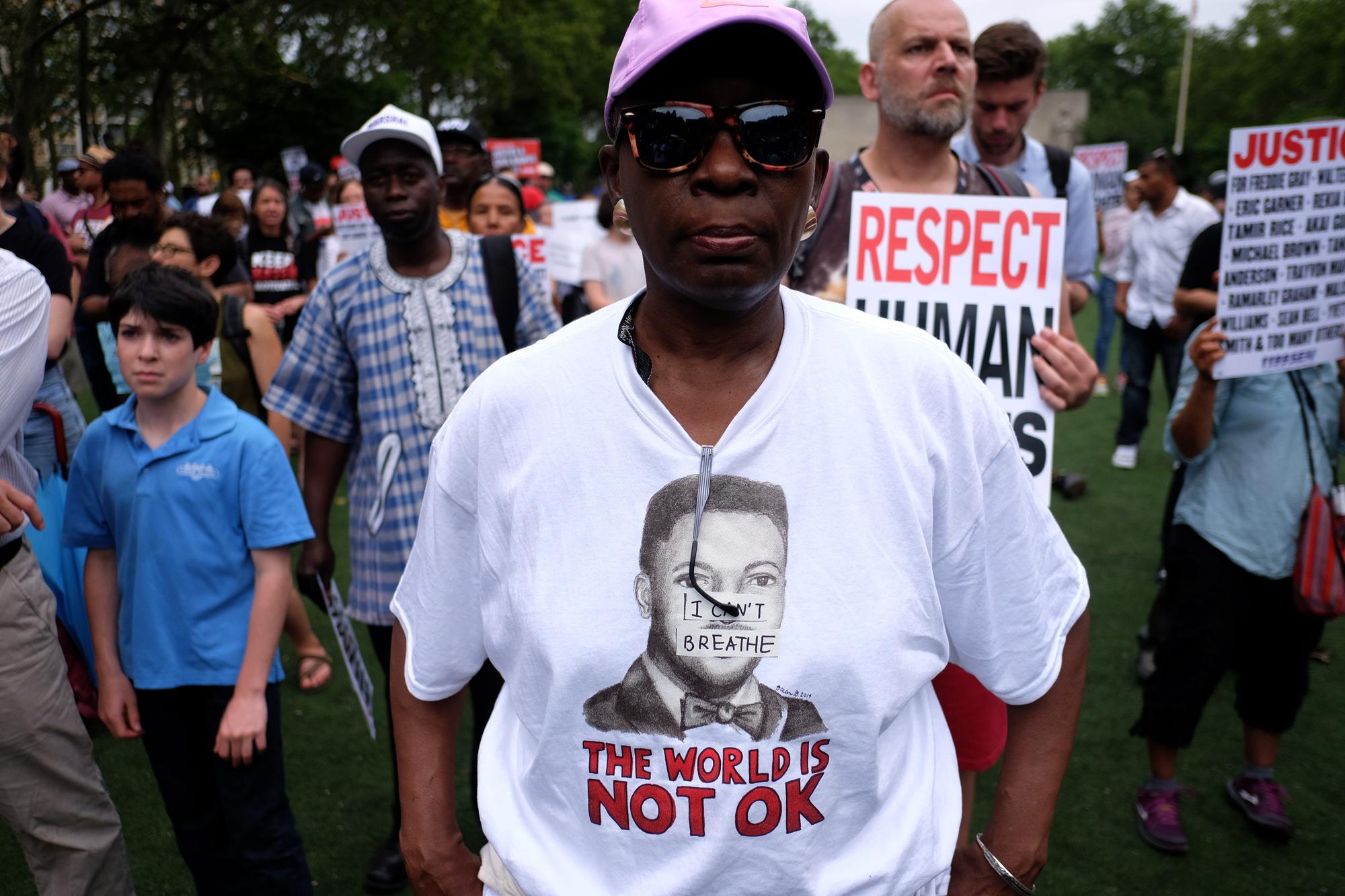 L'affaire avait en 2014 catalysé le mouvement #BlackLivesMatter dénonçant les violences policières contre les Noirs., BELGAIMAGE