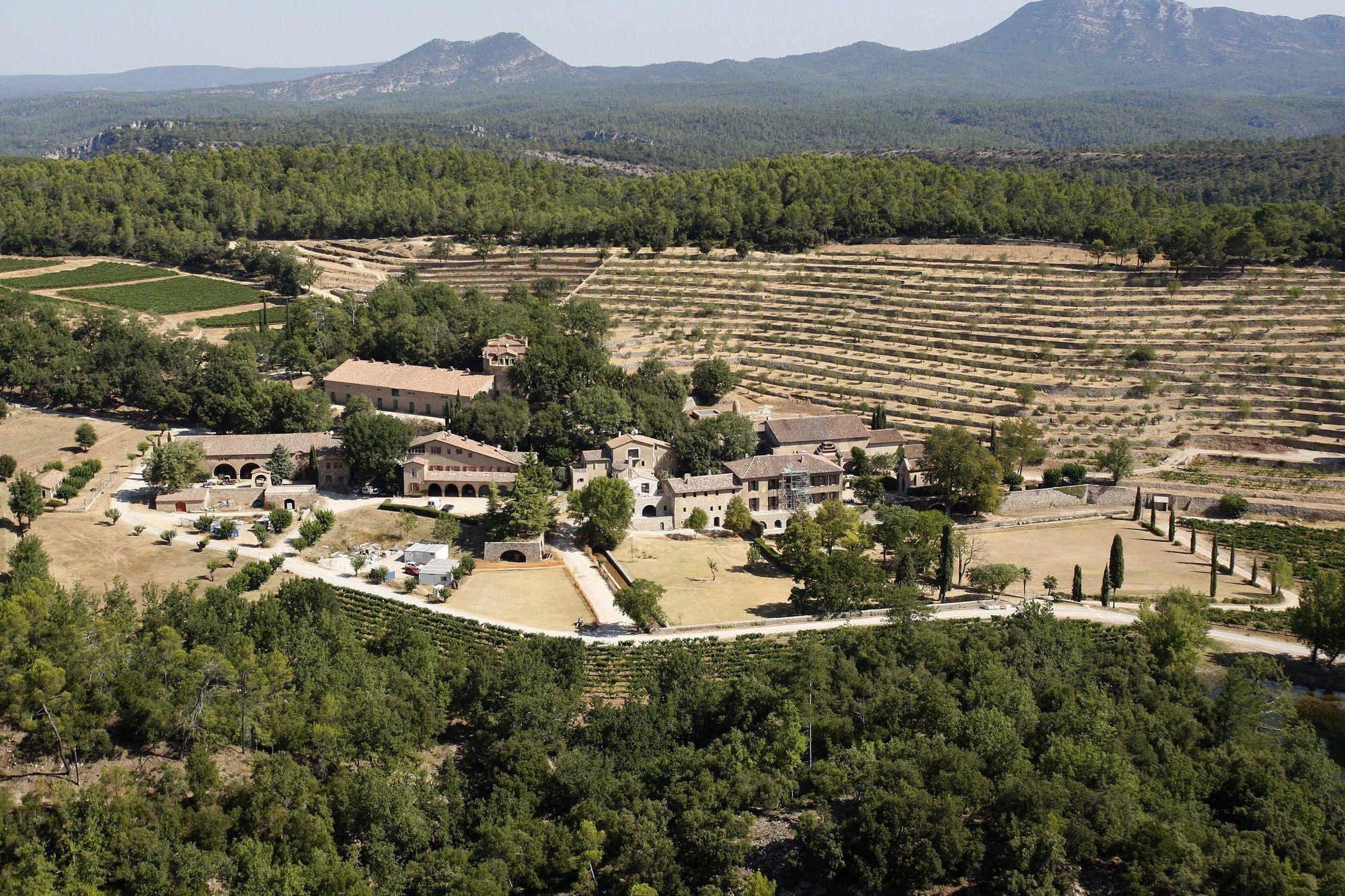 Chateau Miraval, domaine provençal de Brad Pitt , REUTERS
