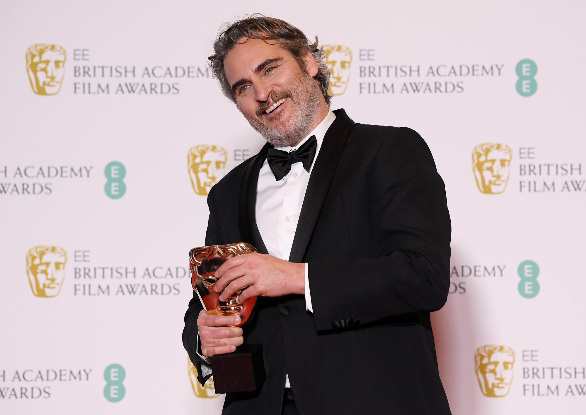 Déception pour Joker, joué par Joaquin Pheonix, donné grand favori avec 11 nominations mais qui se contente de trois prix., Reuters