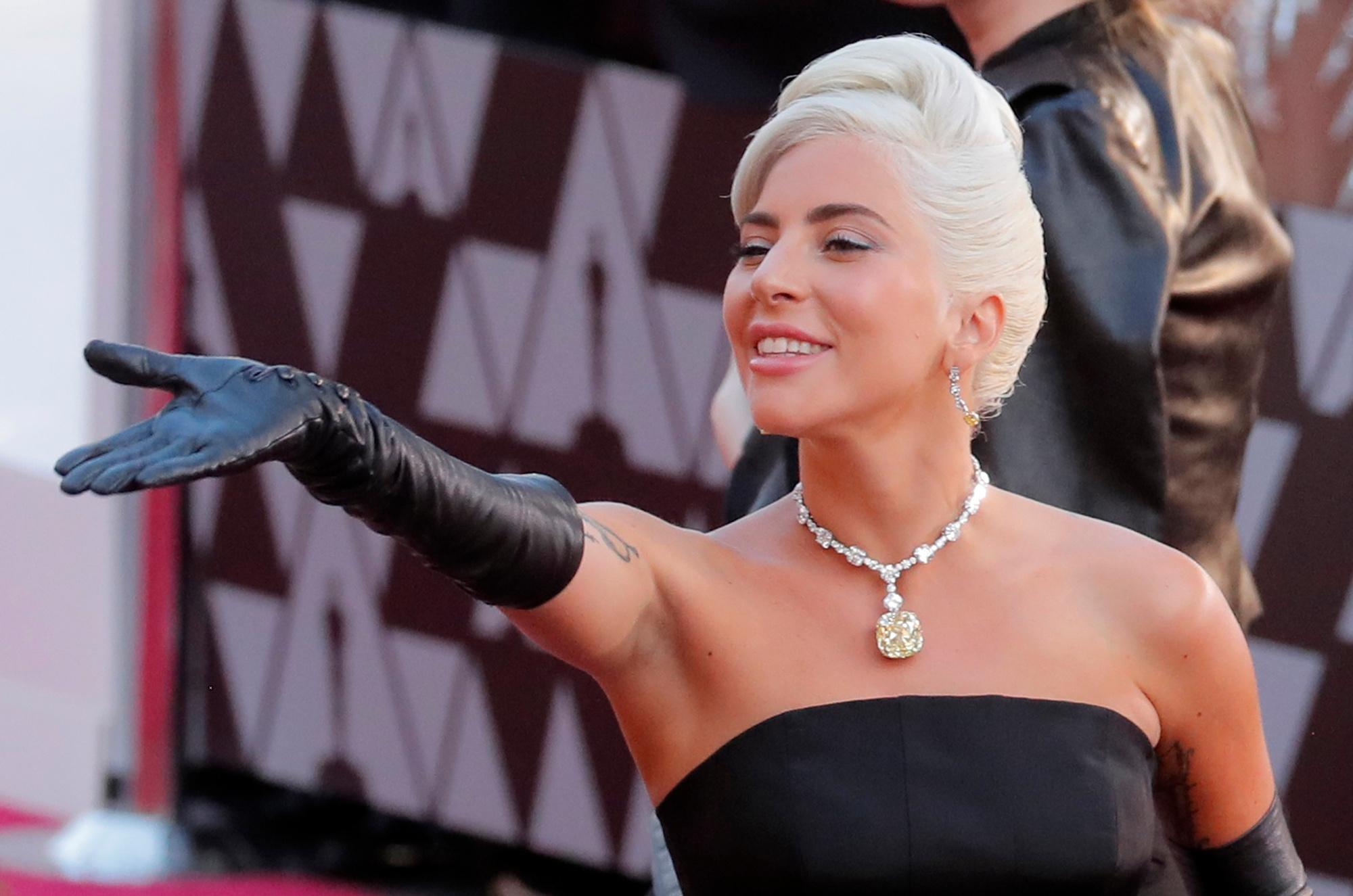 Lady Gaga, ici à la cérémonie des Oscars, REUTERS/Lucas Jackson