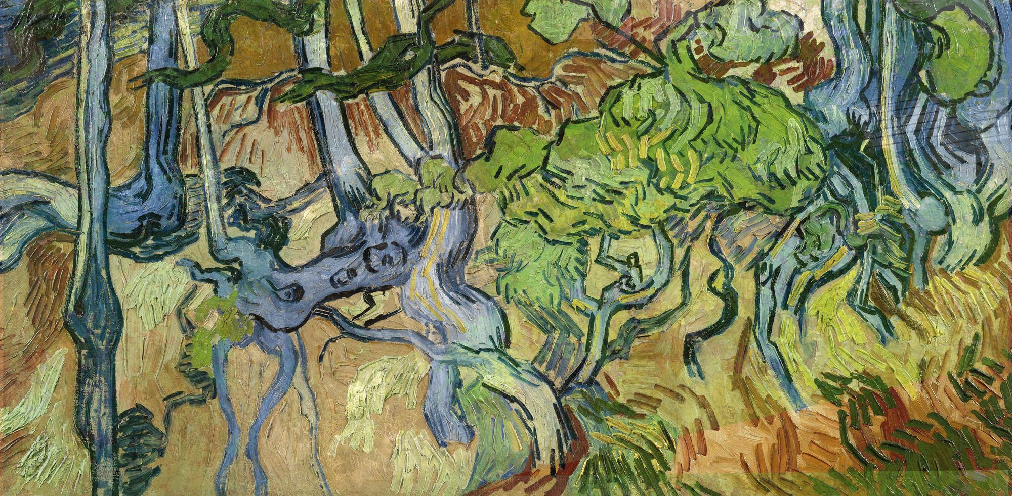 Vincent Van Gogh, Les , 27 juli 1890., Collectie Van Gogh Museum, Amsterdam @ Arthénon
