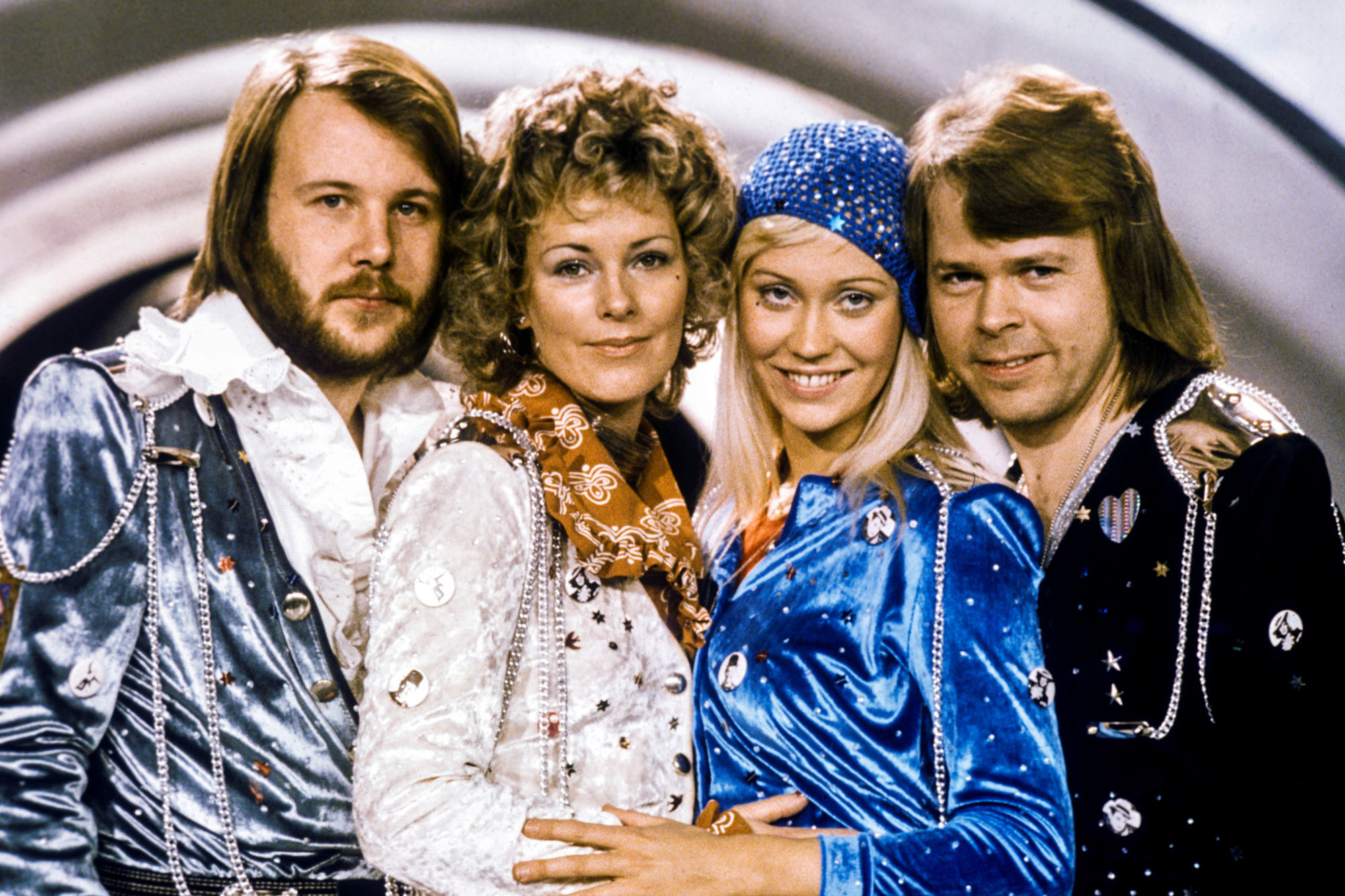 ABBA in 1974., reuters