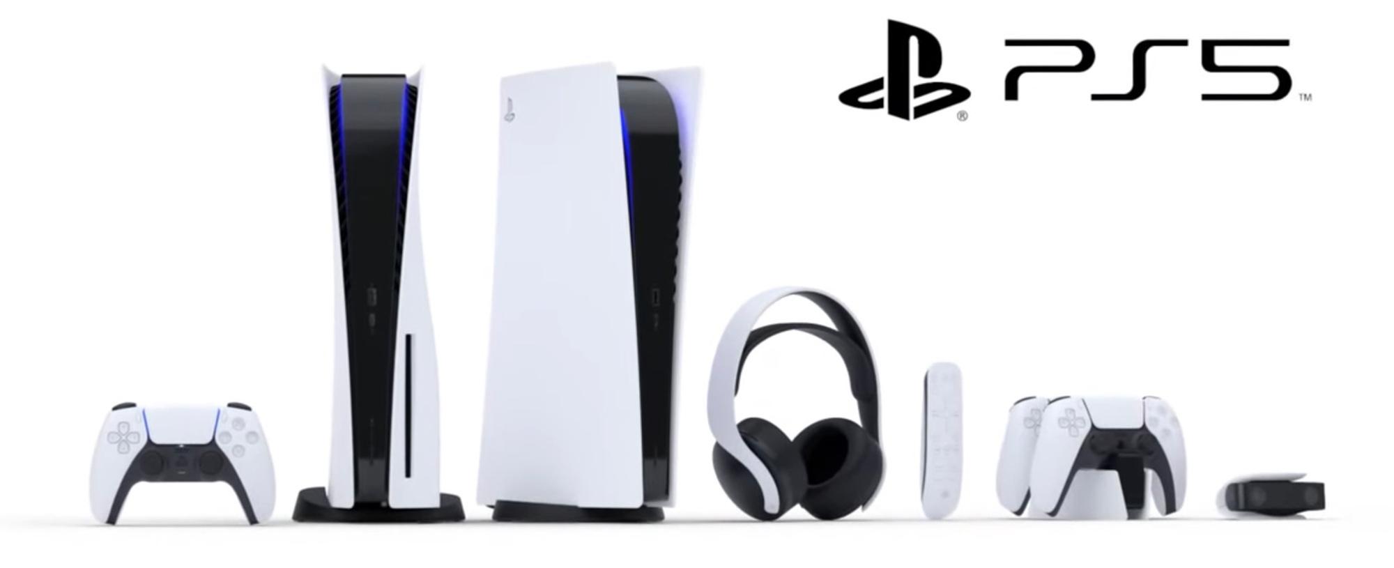De twee PS5-modellen en de nieuwe accessoires voor de console., Sony PlayStation