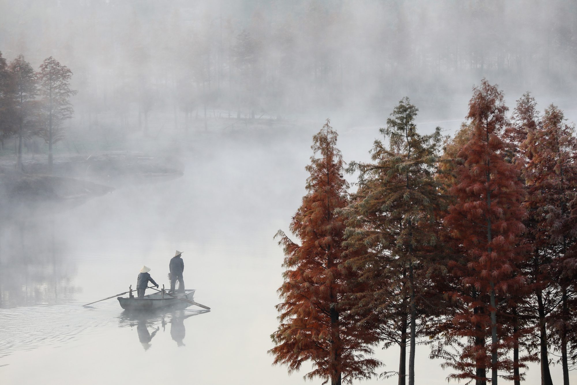 Les splendeurs d'automne., AFP