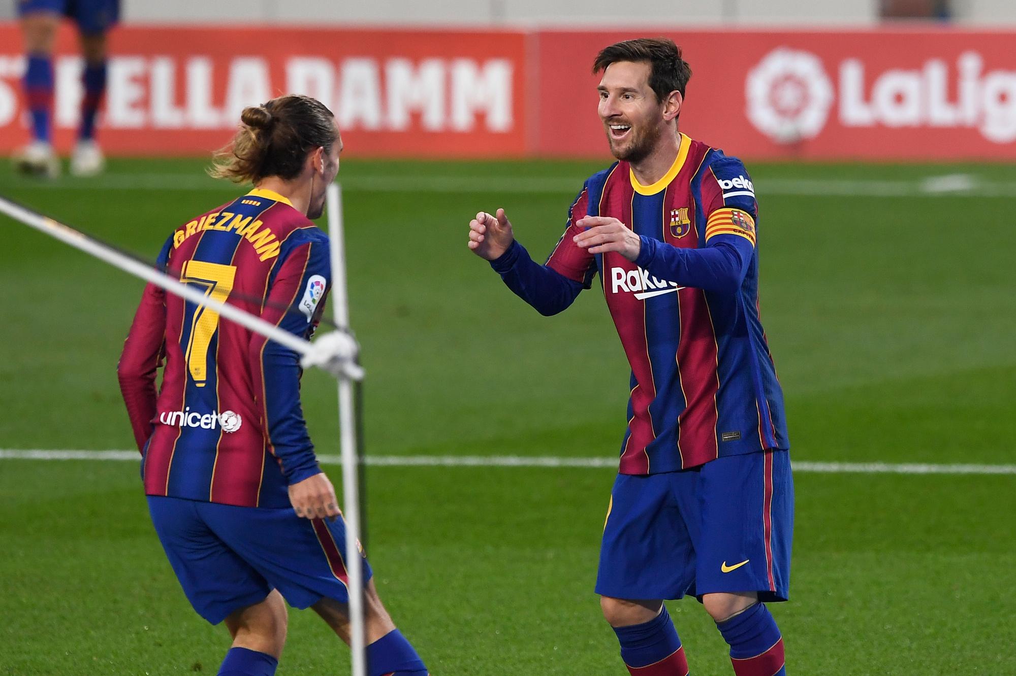 Antoine Griezmann et Lionel Messi : une relation pas si idyllique ?, AFP
