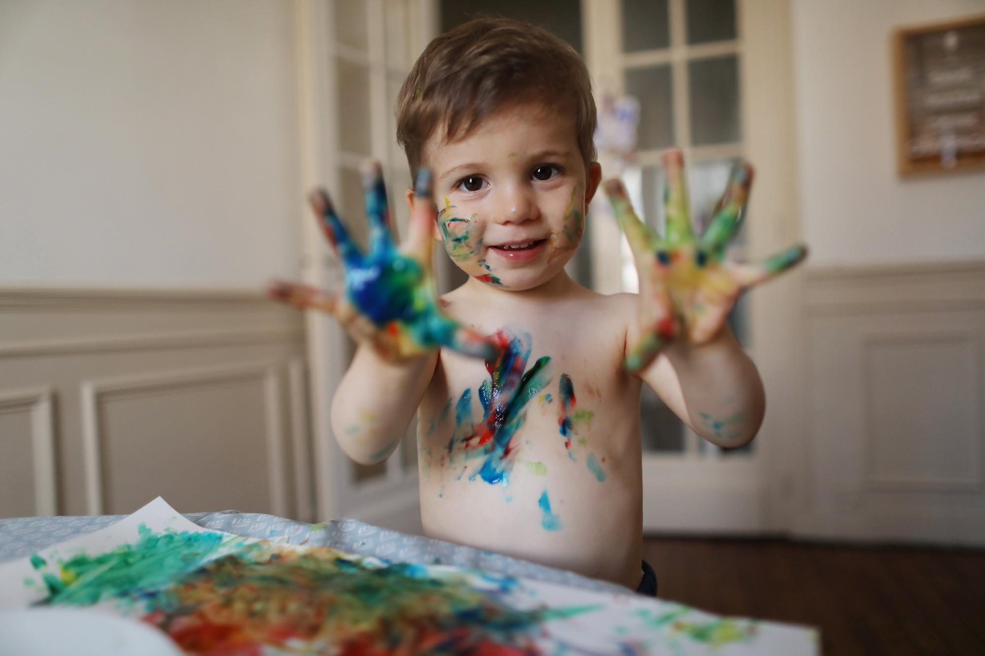 Atelier peinture., GETTY