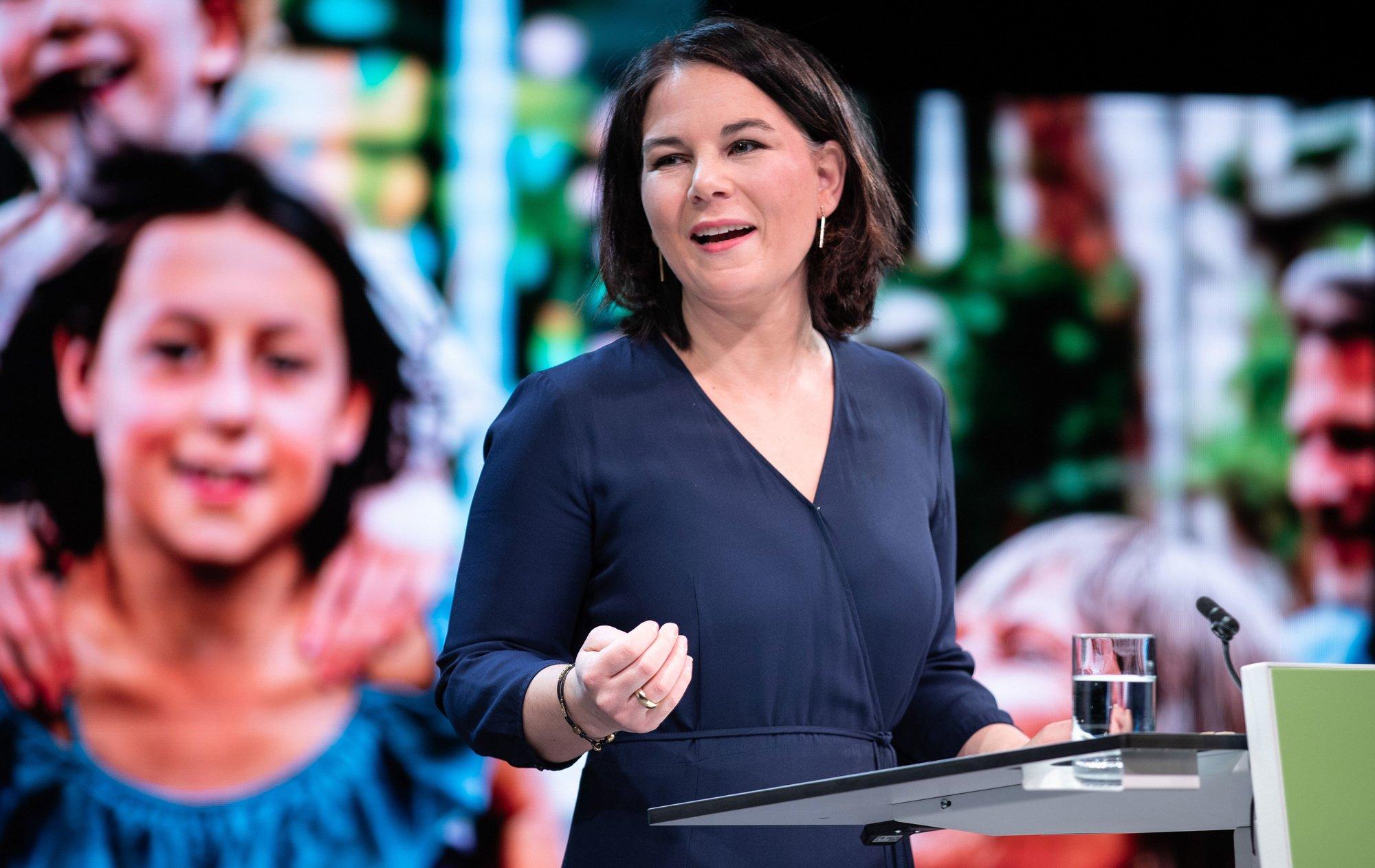 Annalena Baerbock op 19/04/2021, Getty Images/iStock