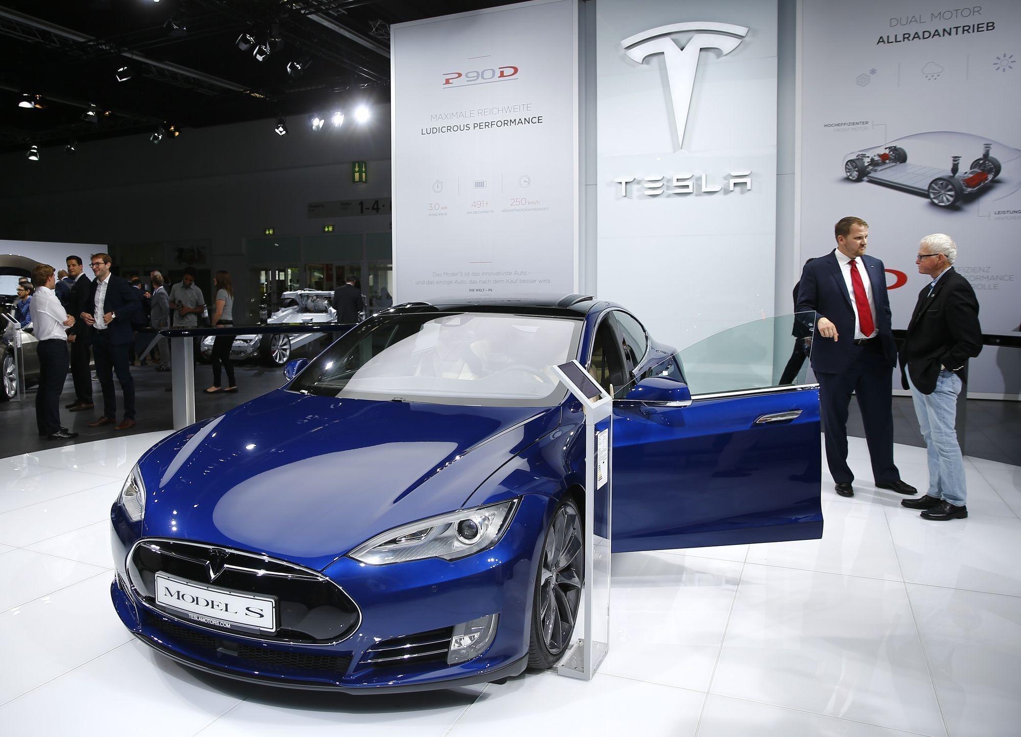 Tesla Model S, REUTERS